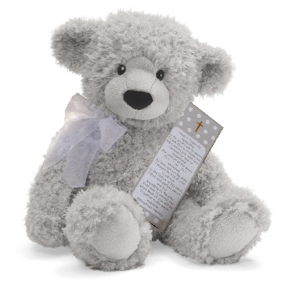 Gray Sympathy Teddy Bear